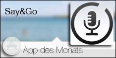 App des Monats Februar 2018 – Say&Go
