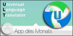 App des Monats März 2018 – Universal Language Translator