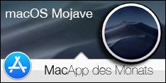 Software des Monats Oktober 2018 – macOS Mojave