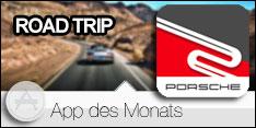 App des Monats Dezember 2018 –Porsche Road Trip