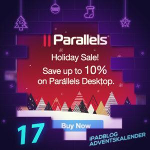 [17. Dezember] Parallels Desktop mit 10% Nachlass